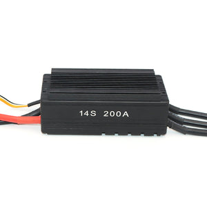 14S 200A High voltage rc model Brushless ESC for dc motor drone motor boat propulsion system ect