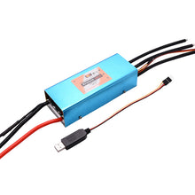 Load image into Gallery viewer, FRC 380A 2-22S HV ESC brushless speed controller with USB program cable for airplane Paramotor Paraglider