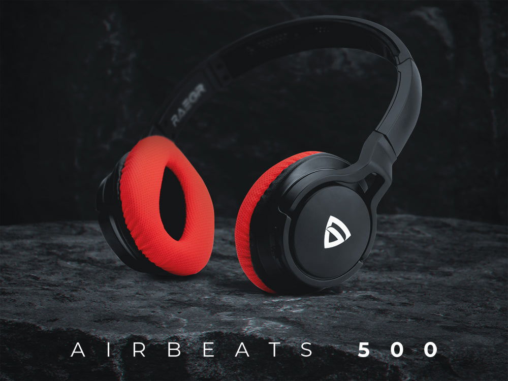 RAEGR AirBeats 500 wireless headphones: To compliment your active lifestyle!