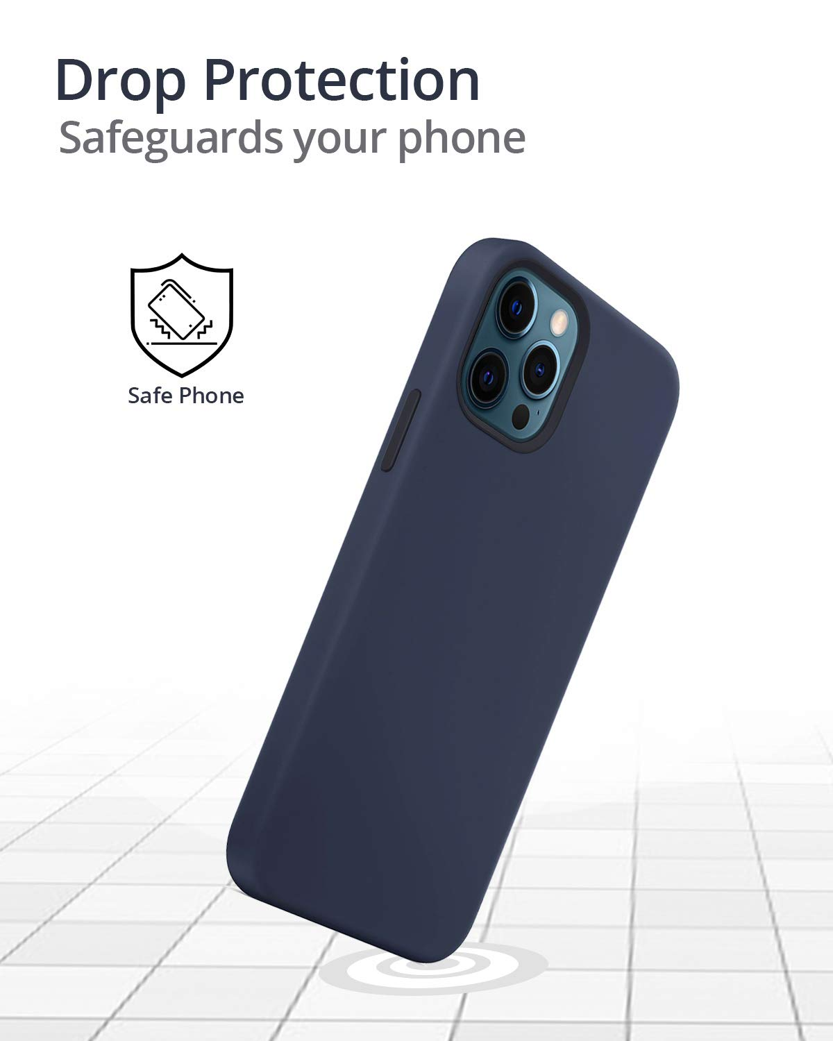 RAEGR iPhone 12 Pro Max 5G MagFix Magnetic Case, Supports Mag-Safe Wireless Charging 6.7