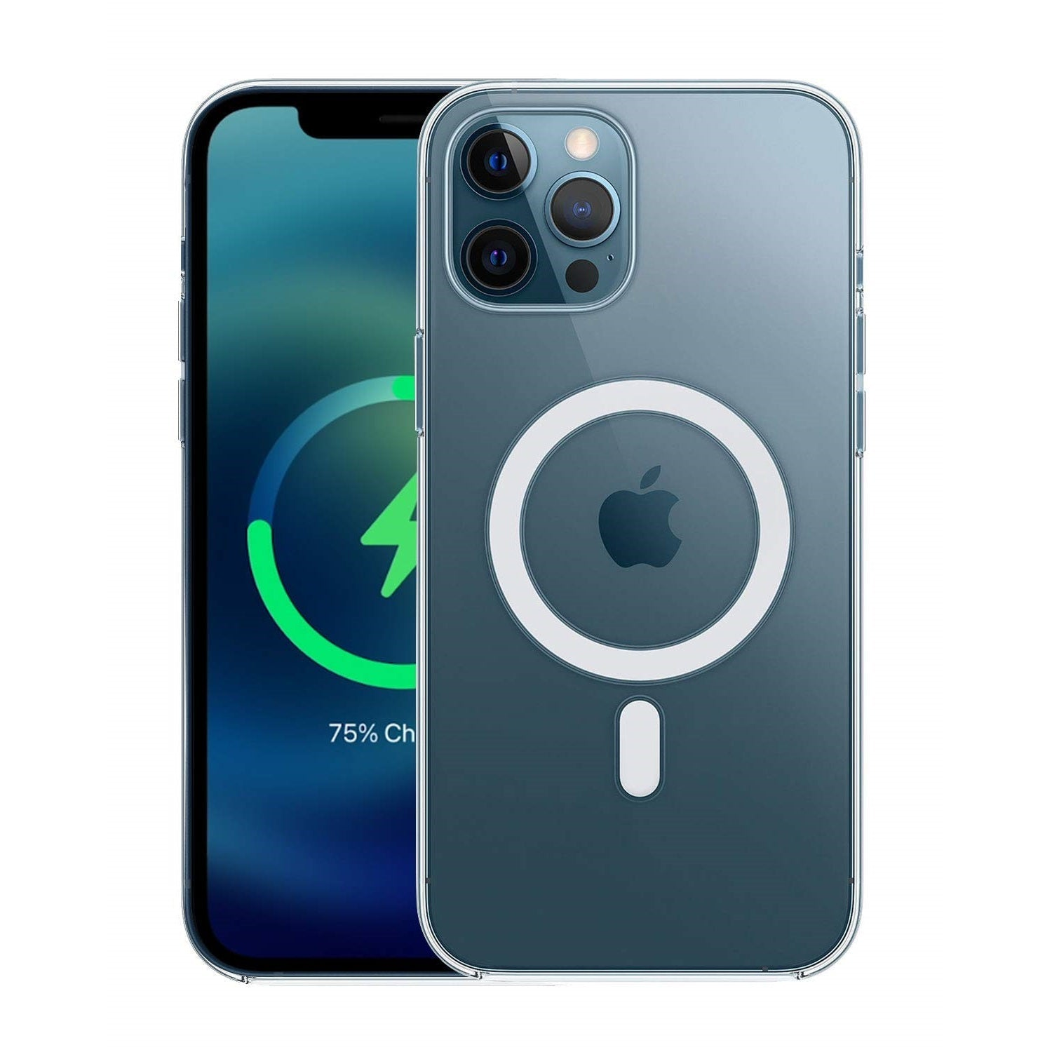 "RAEGR iPhone 12 Pro Max 5G MagFix Magnetic Case, Supports Mag-Safe Wireless Charging 6.7""- Air Hybrid Case"