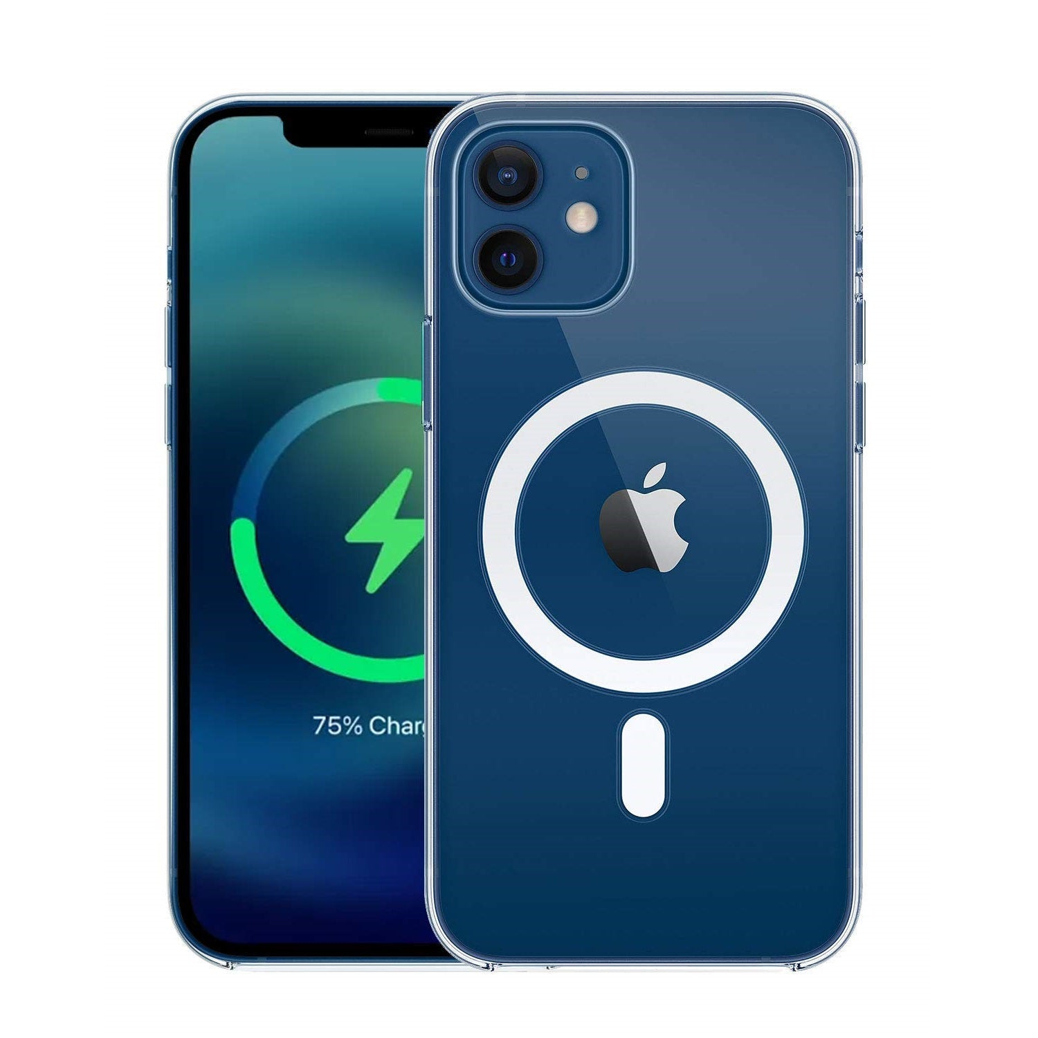 "RAEGR iPhone 12 Mini 5G MagFix Magnetic Case, Supports Mag-Safe Wireless Charging 5.4""- Air Hybrid Case"