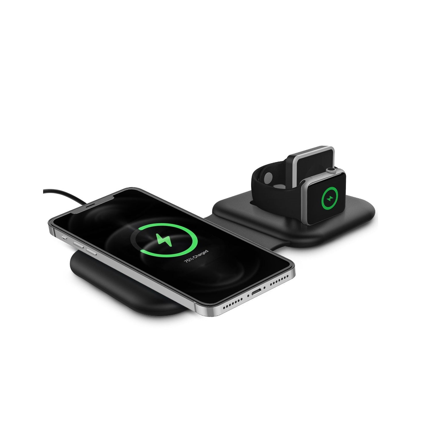 RAEGR MagFix Duo Arc M1330 15W MagSafe Compatible Wireless Charging Station (2 in1)