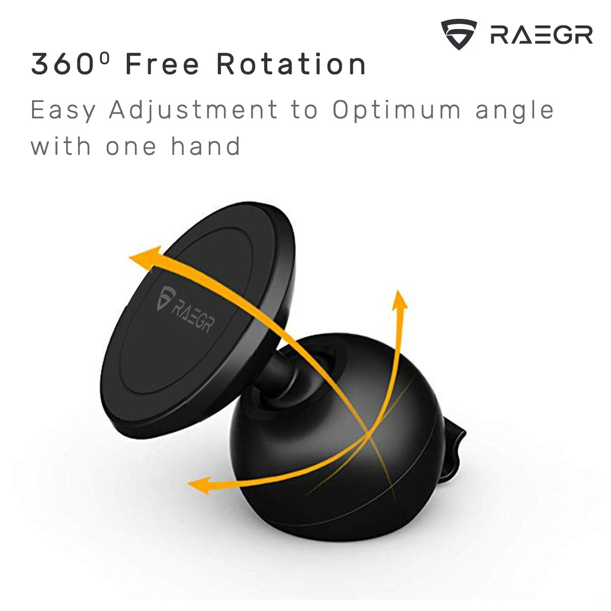 RAEGR MM20 Magnetic Car Mount Holder, Dashboard