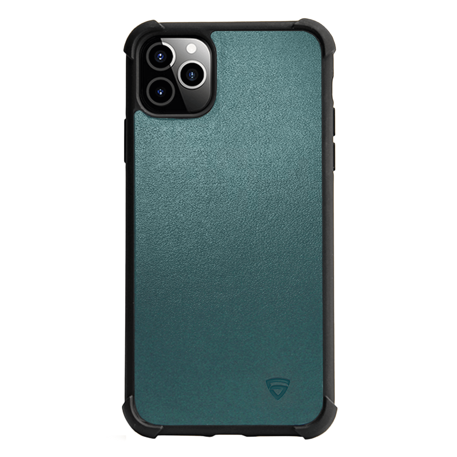 RAEGR iPhone 11 Pro Max Elements Armor Protective Case/Cover with Genuine Leather