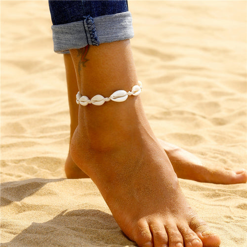 Bohemian Shell Anklets for Women