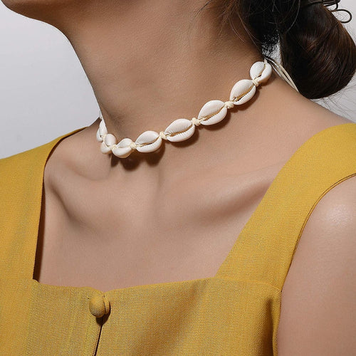 Natural Shell Necklace for Women