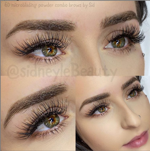 Healed brows by Sidney