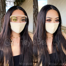 Load image into Gallery viewer, Cloth Masks with Built-In Filter and Removable Eye Shield