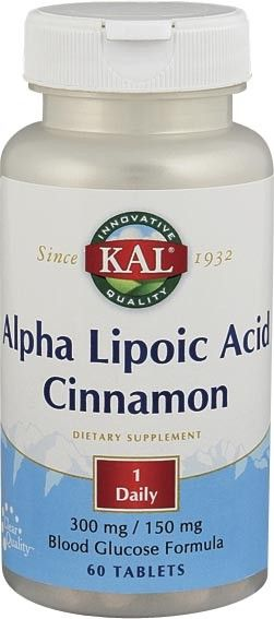 Alpha Lipoic Acid & Cinnamon