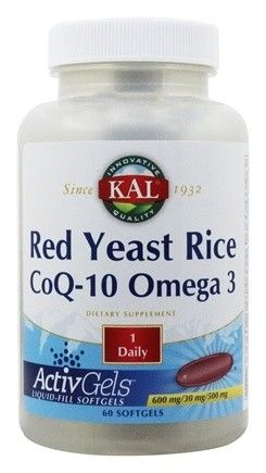 Red Yeast Rice + Q10 + Omega 3