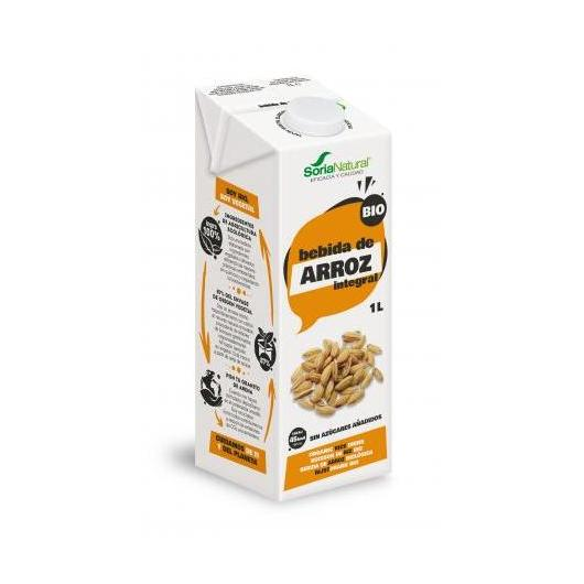 Pack 6L Bebida de Arroz Integral Soria Natural
