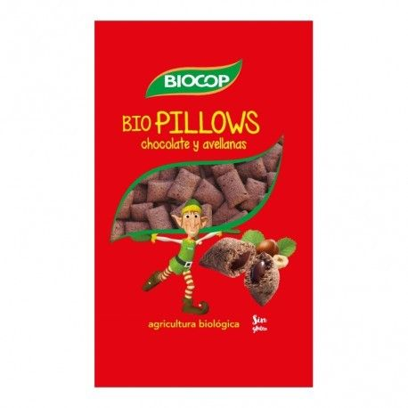 Biopillows Choco Avellanas Biocop 300g