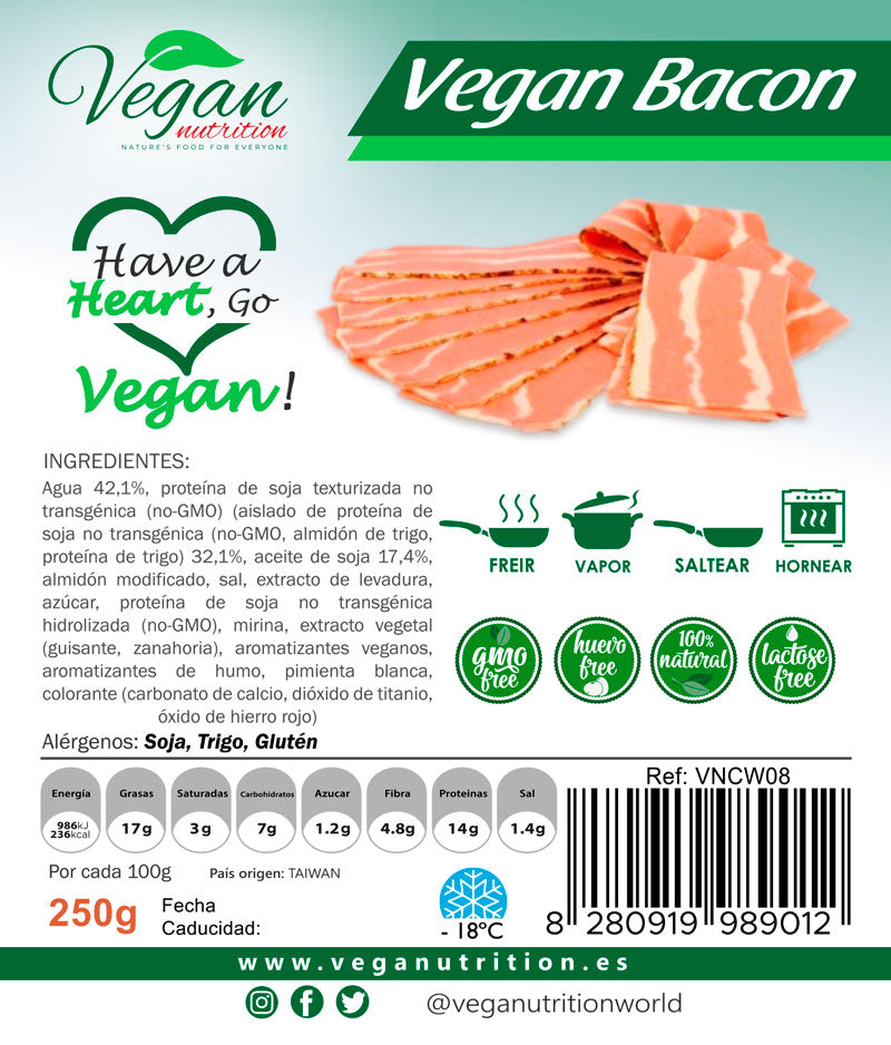 Bacon vegano