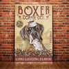 Boxer Dog Coffee Company Canvas FB2804 69O42