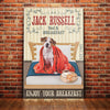 Jack Russell Terrier Dog Bedroom Canvas MR2002 67O52