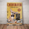 Chihuahua Dog Coffee Company Canvas FB1211 87O58