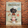 Dachshund Coffee Company Canvas FB0705 85O36