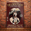 Dalmatian Dog Coffee Company Canvas FB2101 90O47