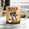 Boxer Dog Coffee Club Mug FB0706 81O53