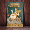Corgi Dog Airline Company Canvas FB2103 71O52