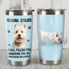 Westie Dog Steel Tumbler MR1107 69O52