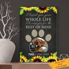 Personalized Dog Memorial Canvas AP0304 90O34