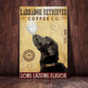 Labrador Retriever Dog Coffee Company Canvas FB1704 73O47