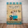 Bull Dog Coffee Shop Canvas FB1101 73O39