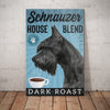 Schnauzer Dog Coffee Company Canvas FB0504 81O36