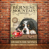 Bernese Mountain Dog Coffee Company Canvas MR0303 67O39