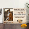 Personalized Dog Memorial Canvas MR3101 67O57