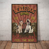 Beagle Dog Record Company Canvas FB1203 90O49