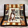 Boxer Dog Fleece Blanket OCT1402 76O49