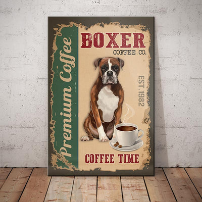 Boxer Dog Coffee Company Canvas FB2801 68O56