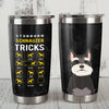 Schnauzer Dog Steel Tumbler MR1005 87O43
