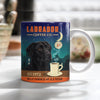 Black Labrador Retriever Dog Coffee Company Mug FB1202 81O36