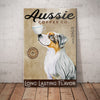 Australian Shepherd Dog Coffee Company Canvas FB1303 81O53