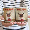 Pug Dog Coffee Company Mug FB2204 68O31