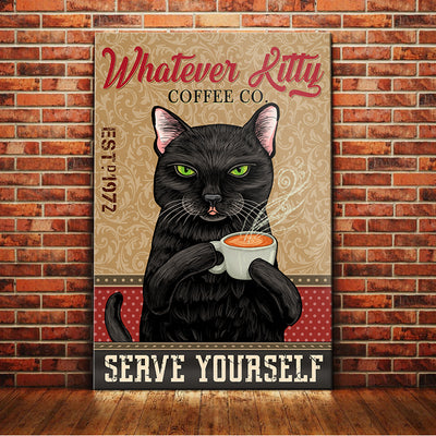 Black Cat Coffee Company Canvas MR1101 87O61