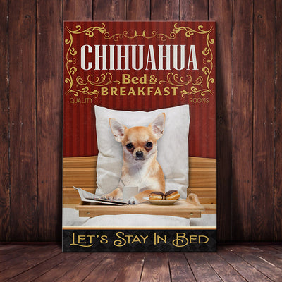 Chihuahua Dog Bedroom Canvas FB2802 69O53