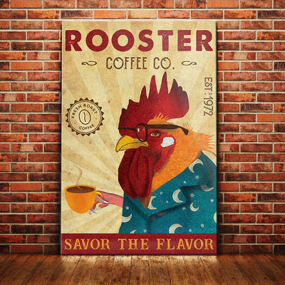 Rooster Coffee Company Canvas MR0601 81O36