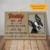 Personalized Dog Memorial Canvas AP0301 67O36