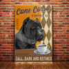 Cane Corso Dog Coffee Company Canvas MR0404 90O36