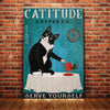Tuxedo Cat Coffee Company Canvas MR1601 85O53