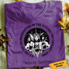 Personalized Daughter Of Witch Halloween White T Shirt JL141 81O34