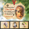 Personalized Dog Memorial In Memory of Our MDF Benelux Ornament NB111 99O60