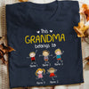 Personalized Grandma FD T Shirt MY111 81O34