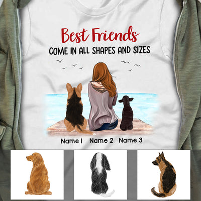 Personalized I Found Your Paws Dog  T Shirt OB273 85O47