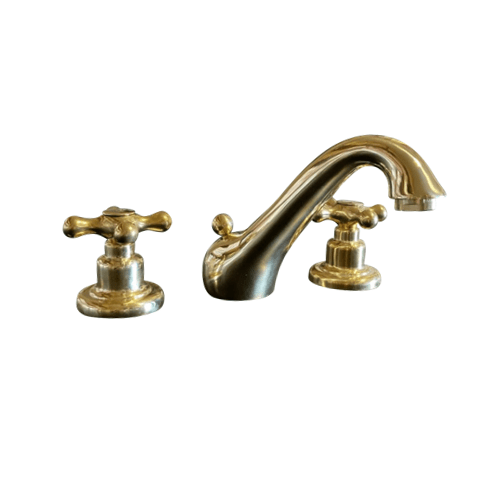 BT47 Deck mounted brass tap 3 holes